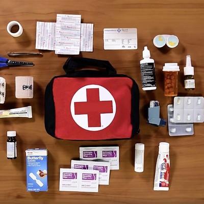 First Aid Equipments